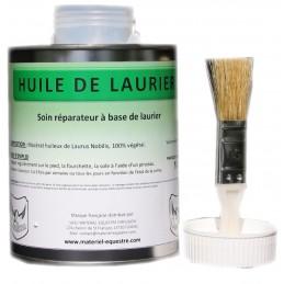 Huile de Laurier + Pinceau...