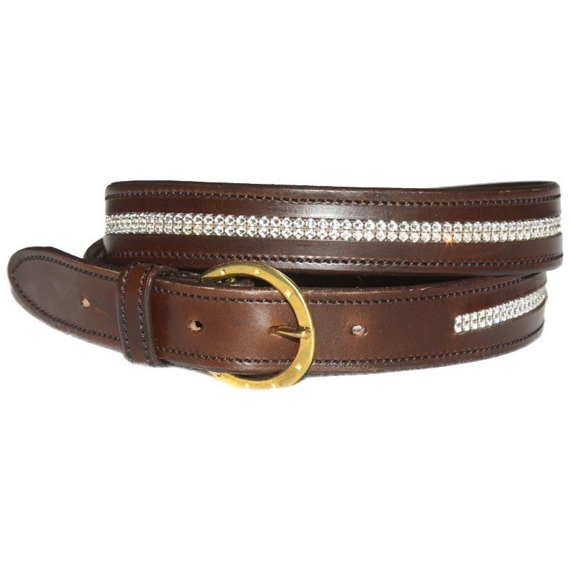 Sangle de dressage en cuir